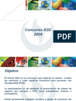 Concurso Plan de Negocios b2d 2009