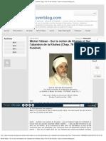 Michel Vâlsan - Sur la notion de Khalwa et Sur l'abandon de la Khalwa (Chap. 78 et 79 des Futûhât) - esprit-universel.overblog.com