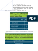CRITERIO GENERAL DEL DISEÑO DE MEZCLAS