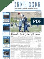 The Oredigger, Issue 2 - September 9th, 2013