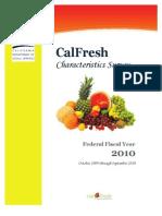 Cal Fresh Household Survey Ff y 2010