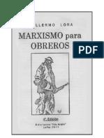 Marxismo Para Obreros