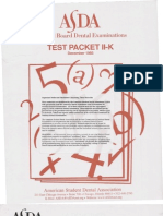 ASDA Released Test Packet