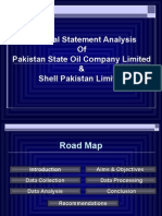 Financial Ratio Analysis of PSO and SPL (Shell) ........TAHIR SAMI