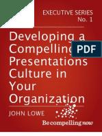 Developing a Compelling Presentations Culture eBook