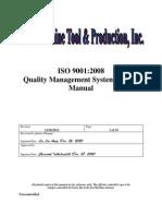 KI Quality Manual Rev. D 12-28-2012