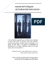 Dossiers- Usos y Lecturas de Foucault Diciembre 2008