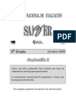 1Cuadernillo 3 noveno 2005