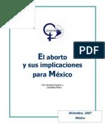 El aborto e implicaciones para México CONSTRUYE 2007