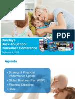 KMb Kimberly Clark Sept 2013 Investor Slide Deck Powerpoint PPT PDF