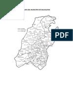 Mapa Del Municipio de Naucalpan