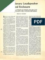 Audio Research Villchur Article AUDIO 1954
