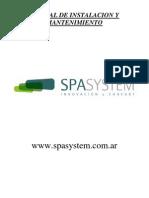 Manual de Instalación y Mantenimiento Spasystem