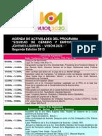 Agenda y Perfiles VISION 2020 - 2da edición
