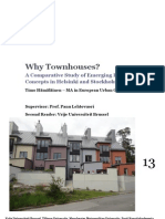 Why Townhouses? A Comparative Study of Emerging Housing Concepts in Helsinki and Stockholm