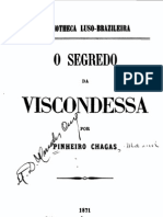 O Segredo Da Viscondessa, de Pinheiro Chagas