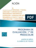 Programa de evaluación-innovación
