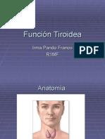 Fisiología Tiroidea