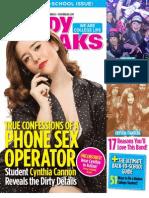 Study Breaks Magazine (LUB)- September 2013