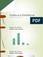 Gráficos e Estatísticas- trabalho de matematica