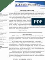 HOA Newsletter Print.2009.06