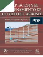 CAPTACIÓN Y ALMACENAMIENTO DE CO2