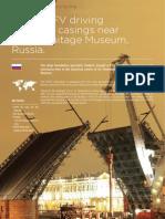 ERKE Group, Vibratory hammer PTC 32HFV  driving casings to reinforce bridge piers Russia