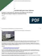 G1 - Antigos lixões de SP são monitorados para evitar explosões - notícias em São Paulo Mais Limpa