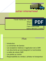 Contrat de Transport Routier