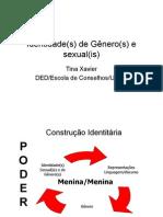 Transparência 6 - Identidade Gênero sexualidade
