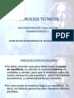Analisis de Pto. Equilibrio Para Iea2