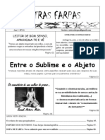 Jornal Outras Farpas.Primeira Edição
