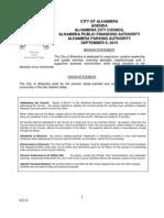 Alhambra City Council Agenda — Sept. 9