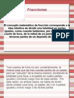 Fracciones .)