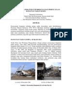 Perkembangan Peraturan Pembebanan Dan Perencanaan Bangunan Tahan Gempa