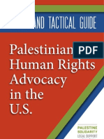 Legal and Tactical Guide Palestinian Human Rights Advocacy in the U.S.