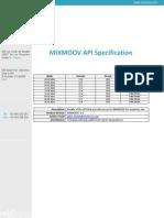 Mixmoov API Php v1 8 on Premise
