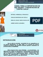 Proyecto Final de Procesos Aduanales