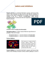 Activators and Inhibitors (Enzyme)