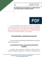 AÇÃO PREVIDENCIÁRIA - APOSENTADORIA POR INVALIDEZ