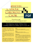 Manhattan Childrens Choir