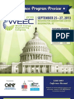 2013 World Energy Engineering Congress Preview Brochure