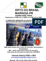 Folder Abertodobrasil Maringa 2013