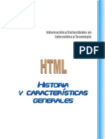 Historia HTML