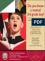 St Paul's Choir School