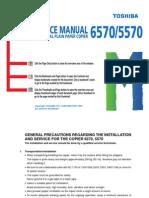Toshiba 6570-5570 Service Manual