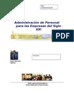 ADM de Personal (Acuario)