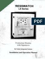 Manual Toledo Serie LS