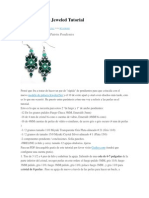 Pendientes Jeweled Tutorial