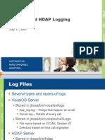 HDAP Logging
